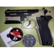 Пневматический пистолет Gamo PT-80 Desert Attack SE кал. 4.5 мм