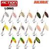 Блесна Akara Long 1+, 6,5г, цвет A04