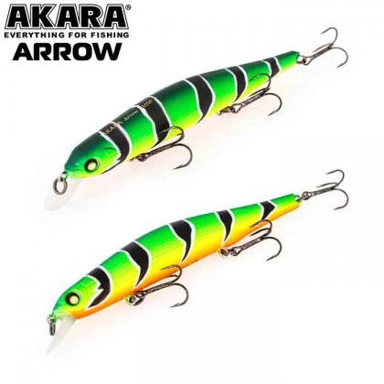 Воблер Akara Arrow 110SP, 17 гр, цвет А107
