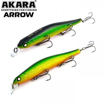 Воблер Akara Arrow 110SP, 17 гр, цвет А84