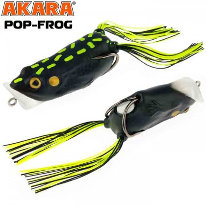 Лягушка-поппер Akara Pop-Frog 70F, 18 гр, цвет 16