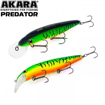 Воблер Akara Predator 100F (10см, 11гр, 0,6-1,8м) А68
