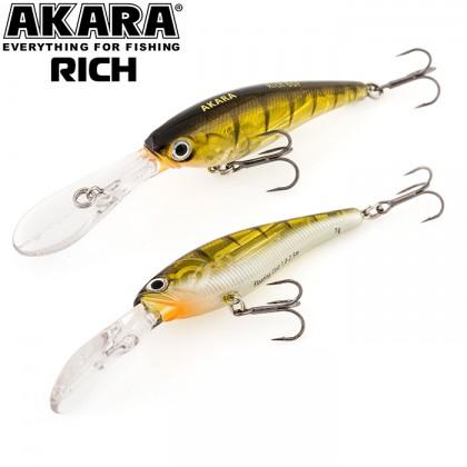 Воблер Akara Rich 60F (6см; 7гр; 1,0-2,5м) А135