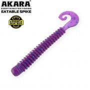 Твистер съедобный Akara Eatable Spike 65, цвет Х040