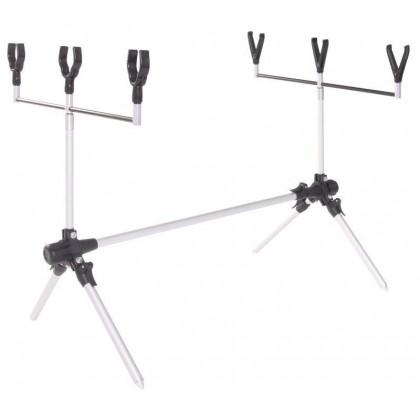 Подставка для удочек алюминиевая Salmo Rod-Pod Al 3U+3Y облегченная