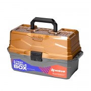 Ящик рыболовный трехполочный Nisus Tackle Box, золотой