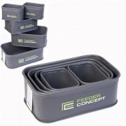 Емкости для прикормки и насадки Feeder Concept FC102B/5шт (EVA)