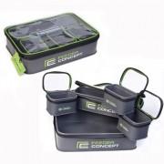 Емкости с крышками для прикормки и насадки Feeder Concept FC105B/5шт (EVA)
