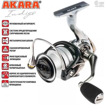 Катушка Akara Indigo AI2500, 6п+1
