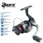 Катушка Akara Fish Point FPF1000, 4+1