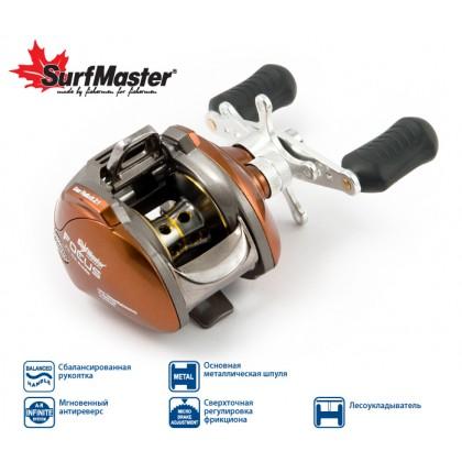 Катушка мультипликаторная Surf Master Focus FC10A, 6+2