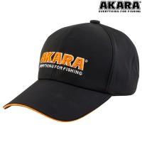 Бейсболка Akara Classic, черная
