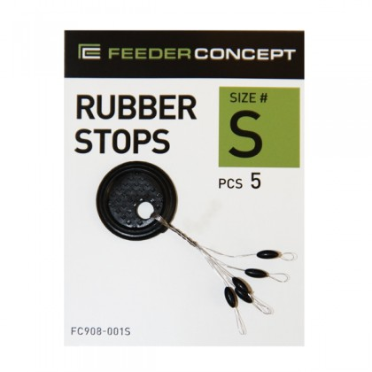 Набор стопоров резиновых Feeder Concept 001S, 5 шт