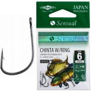 Крючки Mikado SENSUAL CHINTA W/RING №10