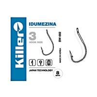 Крючки Killer SW-002 Idumezina №8, 9шт