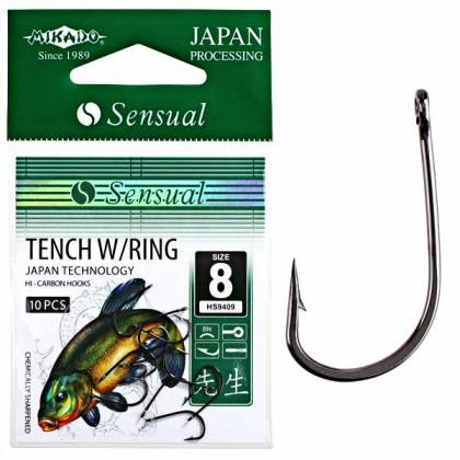 Крючки Mikado Sensual Tench W/Ring №12