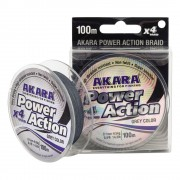 Плетёная леска Akara Power Action X-4, 135м