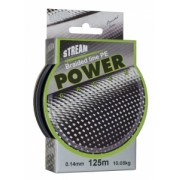 Плетёная леска Stream Braided Line Pe Power Green, 125 м