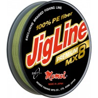 Плетенка Momoi JigLine Premium WX8 100м, зеленая