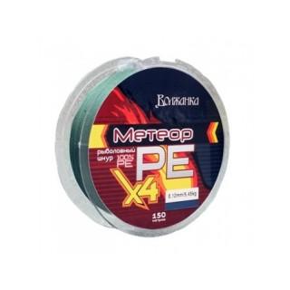 Плетенка Волжанка Метеор X4-150м/зеленая