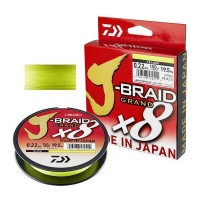Плетёная леска Daiwa J-Braid x8 Dark Green 150м