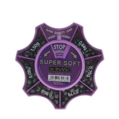 Набор грузил BALSAX SUPER SOFT, 100грамм, (0.64-1.50г)