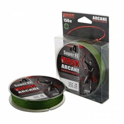 Плетенка Akkoi Mask Arcane X4-150м (зеленая)