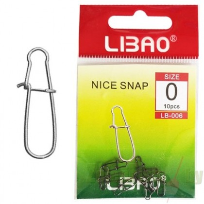 Застежки Libao Nice Snap