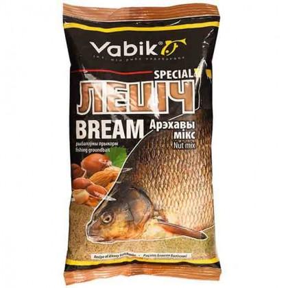 """Прикормка Vabik Special Bream Nut mix """"Лешч Арэхавы мікс"""" (светлая), 1кг"""