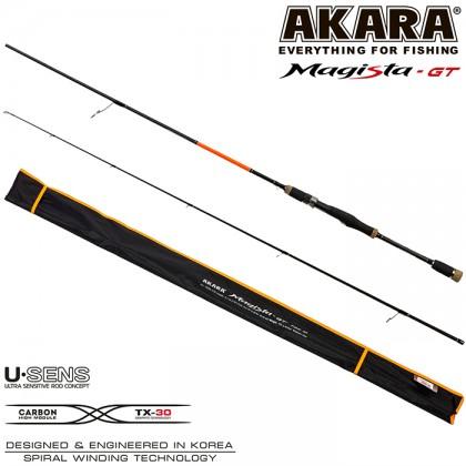 Спиннинг Akara Magista GT M762 2.28м/5.5-27гр
