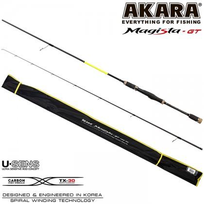Спиннинг Akara Magista GT ML822 2.48м/4.5-19гр