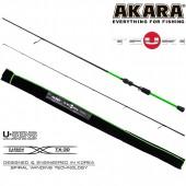 Спиннинг Akara Teuri ULS702 (0,6-7гр) 2,1м