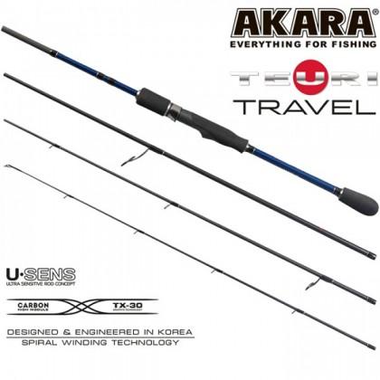 Спиннинг Akara Teuri Travel L 2.28м/1-12гр