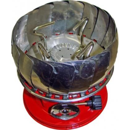 Плита газовая большая Следопыт GR-202 с пъезоподжигом (ветрозащитная)