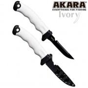 Нож Akara Stainless Steel Ivory, 105 мм