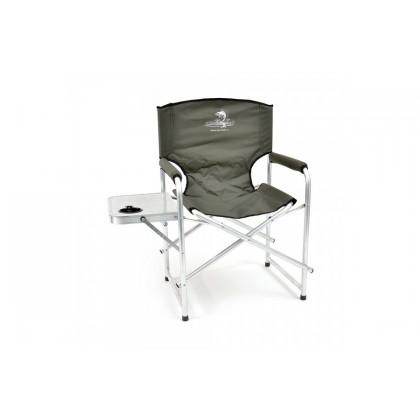 Кресло складное Кедр со столиком, алюм