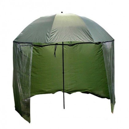 Зонт рыболовный с тентом Mifine 55051, диаметр 220см