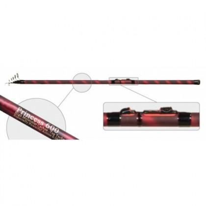 Удилище с кольцами Mikado Princess-Red 6м, 310гр