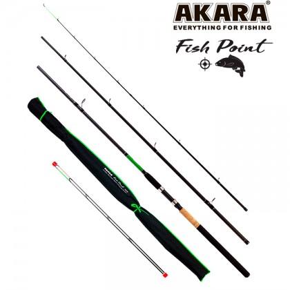 Фидер Akara Fish Point TX-20 (тест 40-120 грамм) 3.9 м