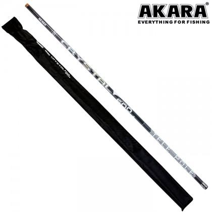 Маховое удилище Akara Crystal Pole 6м, 350гр