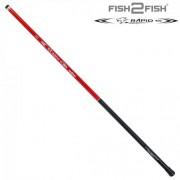 Удочка маховая Fish2Fish Rapid Fiberglas 4м/200гр
