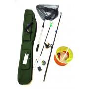 Комплект для рыбалки Пескарь Плюс 400 (удочка углепластиковая 4,0м)