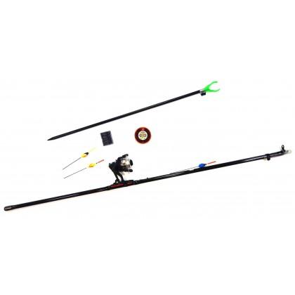 Рыболовный набор Старт Плюс 400 (удочка углепластиковая Princess 4,0м)