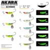 Блесна зимняя Akara Jig Spinner 40 мм, 22 гр, цвет 05