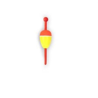 Поплавок зимний Пирс Микроша с пластиковым шестиком №2, (0,5г)