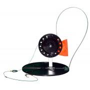Ставка оснащенная на диске с малой катушкой 6,3см