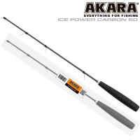 Удочка зимняя Akara Ice Power Carbon 60см