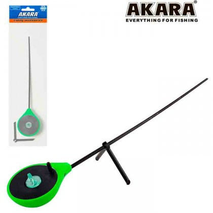 Удочка зимняя балалайка Akara RBU, зеленая
